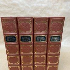 Libros de segunda mano: DON QUIJOTE DE LA MANCHA. JUSTO GARCIA SORIANO 1983 (4 TOMOS). Lote 221742655