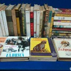 Libros de segunda mano: LOTE DE 35 NOVELAS ANTIGUAS, MUY BUENOS LIBROS, TODOS FOTOGRAFIADOS.. Lote 221777602