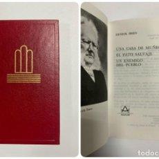 Libros de segunda mano: UNA CASA DE MUÑECAS. HENRIK IBSEN. ED. AGUILAR. CRISOL. BILBAO, 1990. PAGS: 377. Lote 221900866