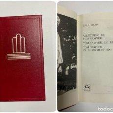 Libros de segunda mano: AVENTURAS DE TOM SAWYER. MARK TWAIN. ED. AGUILAR. CRISOL. BILBAO, 1988. PAGS: 478. Lote 221901122