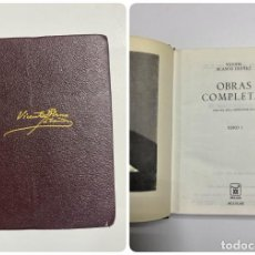 Libros de segunda mano: OBRAS COMPLETAS I. V. BLASCO IBAÑEZ. EDITORIAL AGUILAR. MADRID, 1967. PAGS: 1663. Lote 221901696