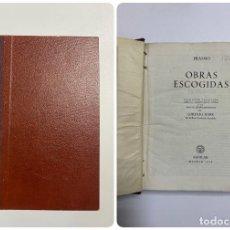 Libros de segunda mano: OBRAS ESCOGIDAS. ERASMO. EDITORIAL AGUILAR. MADRID, 1956. PAGS: 1917. Lote 221902543