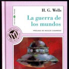 Libros de segunda mano: LAS 100 JOYAS DEL MILENIO. Nº 42. H.G. WELLS. LA GUERRA DE LOS MUNDOS. P. NICOLAS CASARIEGO.. Lote 221915251