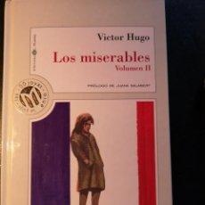 Libros de segunda mano: LOS MISERABLES - VOLUMEN II * COLECCIÓN MILLENIUM* AUTOR: VICTOR HUGO. Lote 222008446
