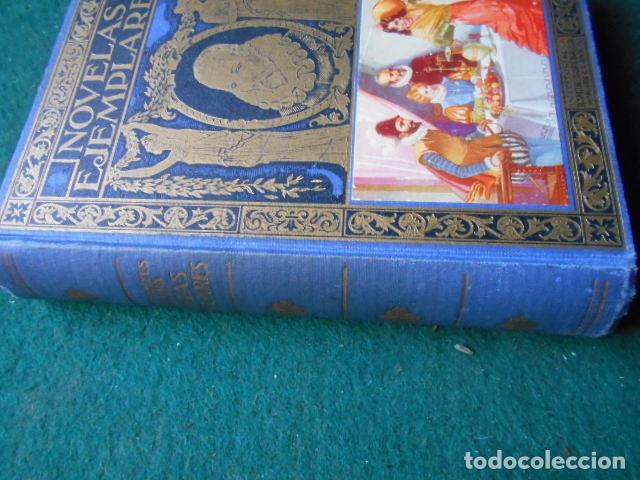 Libros de segunda mano: NOVELAS EJEMPLARES CERVANTES - Foto 2 - 222013392
