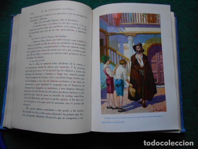 Libros de segunda mano: NOVELAS EJEMPLARES CERVANTES - Foto 4 - 222013392