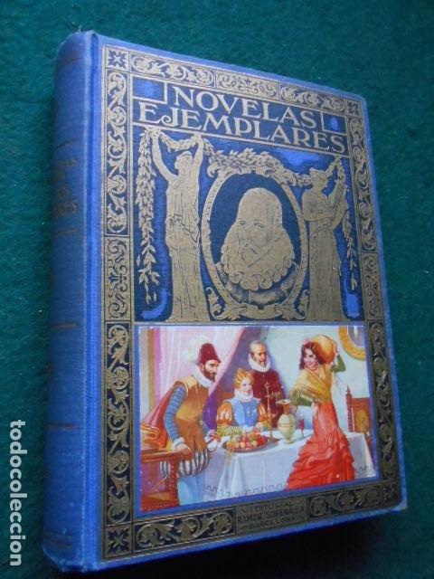 NOVELAS EJEMPLARES CERVANTES (Libros de Segunda Mano (posteriores a 1936) - Literatura - Narrativa - Clásicos)