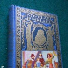 Libros de segunda mano: NOVELAS EJEMPLARES CERVANTES. Lote 222013392