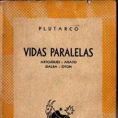 Libros de segunda mano: AUSTRAL Nº 1148 : PLUTARCO - VIDAS. ARITÓTELES - ARATO / GALBA / OTON (1952) 1ª EDICIÓN EN AUSTRAL. Lote 222035537