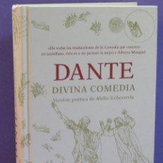Libros de segunda mano: DANTE / LA DIVINA COMEDIA - VERSIÓN POÉTICA DE ABILIO ECHEVARRÍA. Lote 222062396