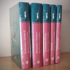 Libros de segunda mano: LO MEJOR DE GALDOS 5 LIBROS - FORTUNATA JACINTA I Y II - MISERICORDIA - NAZARIN Y FONTANA DE ORO. Lote 222328606