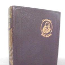Libros de segunda mano: CERVANTES. DON QUIJOTE DE LA MANCHA. EDITORIAL AGUILAR. 1957. VER FOTOGARFIAS ADJUNTAS. Lote 222354578