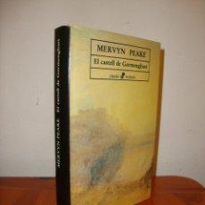 Libros de segunda mano: EL CASTELL DE GORMENGHAST - MERVYN PEAKE - EDHASA, MOLT BON ESTAT, RAR. Lote 222374795