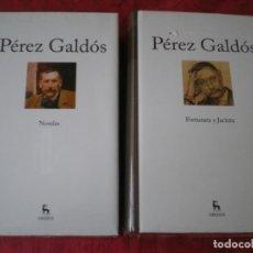 Libros de segunda mano: BENITO PÉREZ GALDÓS. FORTUNATA Y JACINTA, NOVELAS... 2 TOMOS NUEVOS. EDITORIAL GREDOS.. Lote 222473017