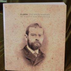 Libros de segunda mano: CLARÍN, 100 AÑOS DESPUÉS, INSTITUTO CERVANTES, JON JUARISTI Y OTROS. Lote 222521921