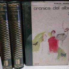 Libros de segunda mano: R.J. SENDER - CRÓNICA DEL ALBA. Lote 222521967