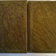 Libros de segunda mano: HOMERO. LA ILIADA/ LA ODISEA. EDICIONES DALMAU, SPAIN 1980 (2 TOMOS). Lote 222605892