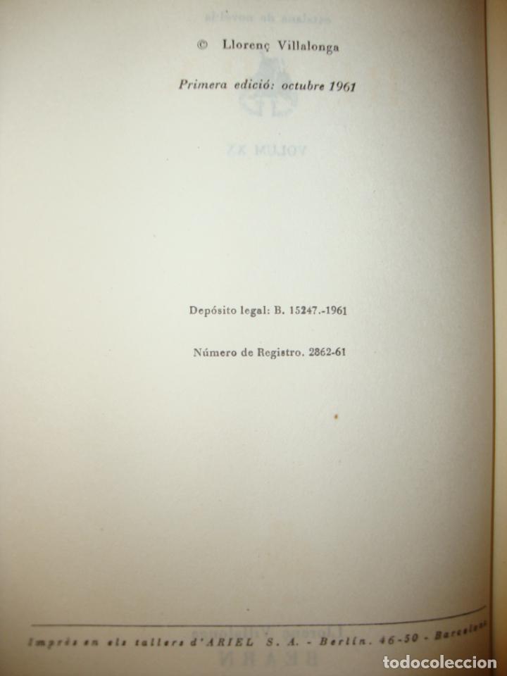 Libros de segunda mano: BEARN - LLORENÇ VILLALONGA - CLUB DELS NOVEL.LISTES, MOLT BON ESTAT, PRIMERA EDICIÓ: 1961 - Foto 5 - 222709378