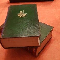 Libros de segunda mano: DON QUIJOTE DE LA MANCHA - 2 TOMOS - CERVANTES - SEIX - ILUSTRADO POR CARBONERO Y BARRAU.. Lote 222836592