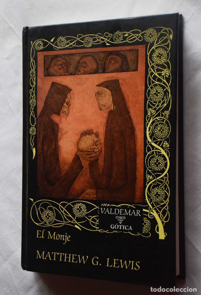 EL MONJE - MATTHEW G. LEWIS - VALDEMAR GOTICA , ED. 1997 (Libros de Segunda Mano (posteriores a 1936) - Literatura - Narrativa - Clásicos)
