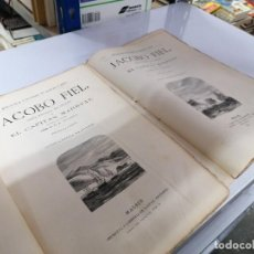 Libros de segunda mano: EL CAPITÁN MARRYAT. JACOB FIEL. 2 TOMOS COMPLETA. Lote 223889800