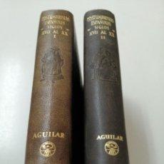 Libros de segunda mano: COSTUMBRISTAS ESPAÑOLES SIGLOS XVII AL XX AGUILAR PRIMERA EDICION. Lote 224251157