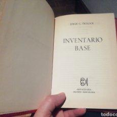 Libros de segunda mano: INVENTARIO BASE. JORGE C. TURLOCK. PRIMERA EDICIÓN.. Lote 224795318