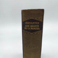 Libros de segunda mano: CERVANTES DON QUIJOTE DE LA MANCHA AGUILAR 1968. Lote 224857437