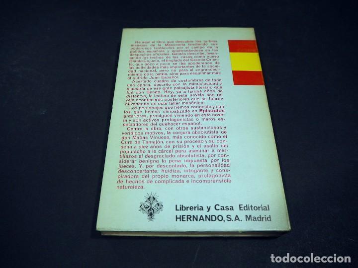 Libros de segunda mano: Benito Perez Galdós. El grande Oriente. Episodios nacionales. Editorial Hernando, S.A 1970 - Foto 3 - 225322951