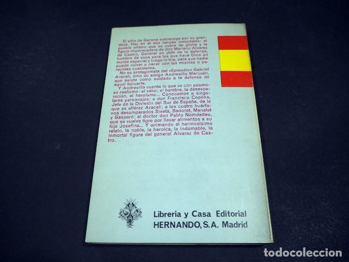Libros de segunda mano: Benito Perez Galdós. Gerona. Episodios nacionales. Editorial Hernando, S.A 1971 - Foto 3 - 225323290
