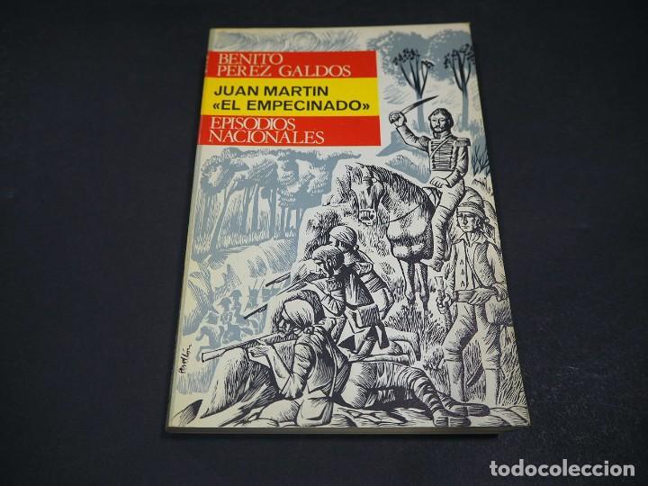 """Libros de segunda mano: Benito Perez Galdós. Juan Martin """"El empecinado"""". Episodios nacionales. Editorial Hernando, S.A 1971 - Foto 2 - 225323638"""