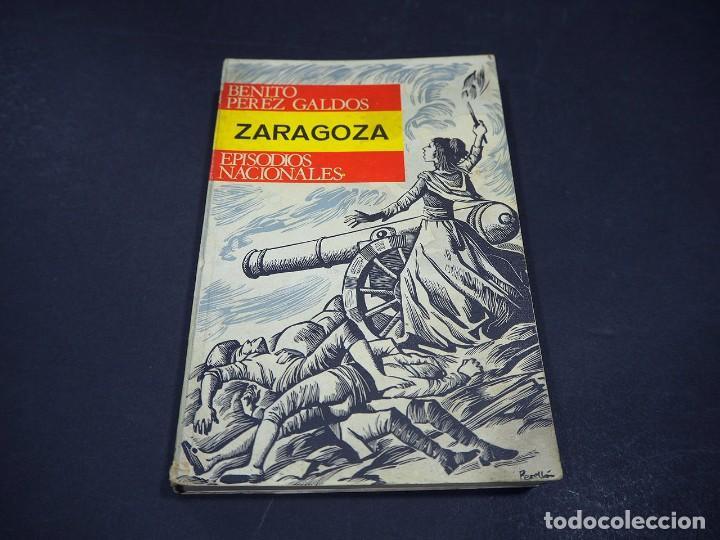 Libros de segunda mano: Benito Perez Galdós. Zaragoza. Episodios nacionales. Editorial Hernando, S.A 1970 - Foto 2 - 225324037