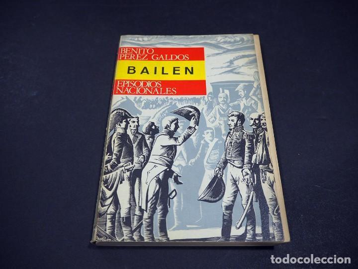 Libros de segunda mano: Benito Perez Galdós. Bailén. Episodios nacionales. Editorial Hernando, S.A 1970 - Foto 2 - 225324300