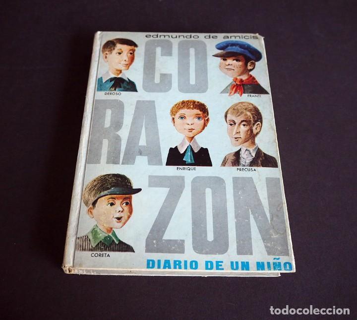Libros de segunda mano: Edmundo de Amicis. Corazón. Ilustraciones de Perellón. Editorial Hernando, S.A 1972 - Foto 2 - 225338571