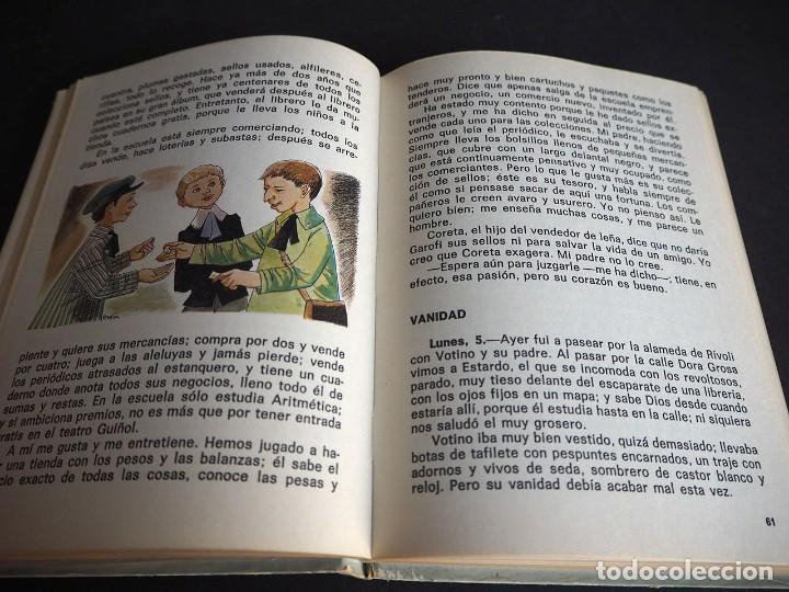 Libros de segunda mano: Edmundo de Amicis. Corazón. Ilustraciones de Perellón. Editorial Hernando, S.A 1972 - Foto 4 - 225338571