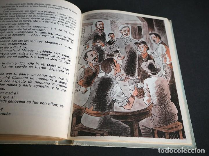 Libros de segunda mano: Edmundo de Amicis. Corazón. Ilustraciones de Perellón. Editorial Hernando, S.A 1972 - Foto 8 - 225338571
