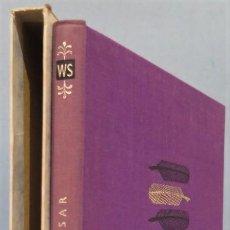 Libros de segunda mano: 1962.- JULIUS CAESAR. SHAKESPEARE. FOLIO. Lote 225734050