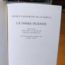 Libros de segunda mano: LA DAMA DUENDE, EDICION DE FAUSTA ANTONUCCI, ED. GALAXIA GUTEMBERG, 2007. TAPA DURA. RARO.. Lote 225839580