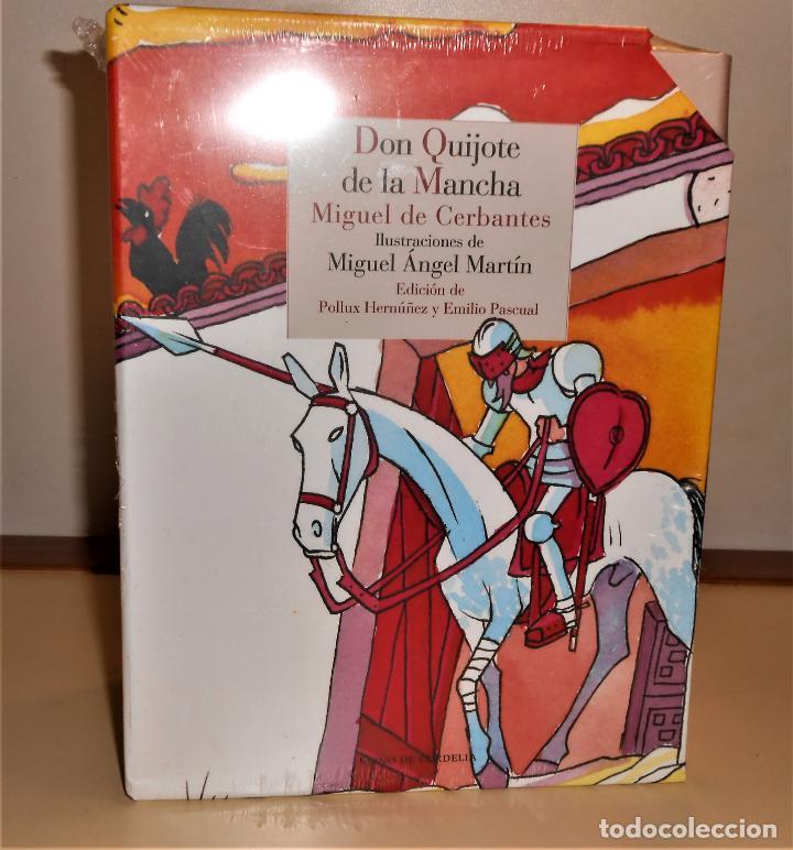 DON QUIJOTE DE LA MANCHA.2 TOMOS, ILUSTRACIONES COLOR DE MIGUEL Á. MARTÍN - REINO DE CORDELIA 2015 (Libros de Segunda Mano (posteriores a 1936) - Literatura - Narrativa - Clásicos)
