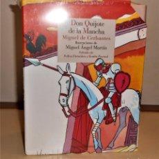Libros de segunda mano: DON QUIJOTE DE LA MANCHA.2 TOMOS, ILUSTRACIONES COLOR DE MIGUEL Á. MARTÍN. REINO DE CORDELIA 2015. Lote 226219545