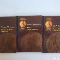 Libros de segunda mano: PREMIOS NOVEL, T. MOMMSEN, H. SIENKIEWICZ, E. A. KARLFELDT. Lote 226477390