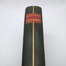 Libros de segunda mano: DECAMERON DE JOAN BOCCACIO. Lote 226765060