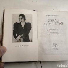 Livros em segunda mão: OBRAS COMPLETAS. JUANA DE IBARBOUROU. 1960 MADRID. ED.: AGUILAR. 2ª EDICIÓN.. Lote 226955775