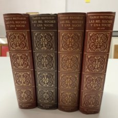 Libros de segunda mano: LAS MIL Y UNA NOCHES, POR S. MALLARMÉ, EN 4 TOMOS 2A ED.1956.. Lote 227050985