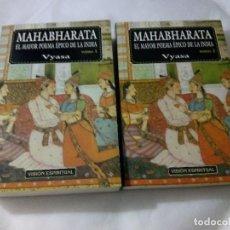 Libros de segunda mano: MAHABHARATA. EL MAYOR POEMA ÉPICO DE LA INDIA. 2 TOMOS / VYASA. Lote 227247464
