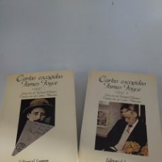 Libros de segunda mano: CARTAS ESCOGIDAS . JAMES JOYCE. EDITORIAL LUMEN. Lote 227598525