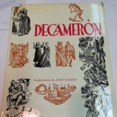 Libros de segunda mano: GIOVANNI BOCCACCIO DECAMERON 2 TOMOS S1837T. Lote 227825165