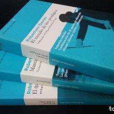 Libros de segunda mano: 2007 - ROBERTSON DAVIES - TRILOGÍA DE DEPTFORD: EL QUINTO EN DISCORDIA. MANTÍCORA, ETC.. Lote 228461665