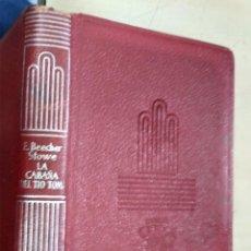Libros de segunda mano: LA CABAÑA DEL TIO TOM E. BEECHER STOWE AGUILAR 1960 COL. CRISOL N.143. Lote 228510440