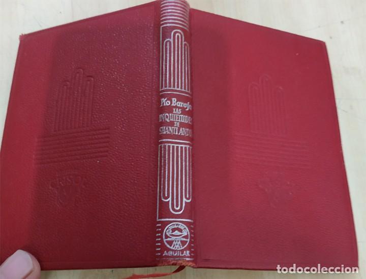 LAS INQUIETUDES DE SHANTIANDIA PIO BAROJA AGUILAR 1957 COL. CRISOL N.309 (Libros de Segunda Mano (posteriores a 1936) - Literatura - Narrativa - Clásicos)